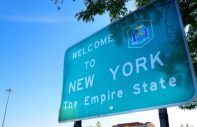 welcome to new york sign