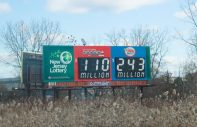 new jersey lottery billboard
